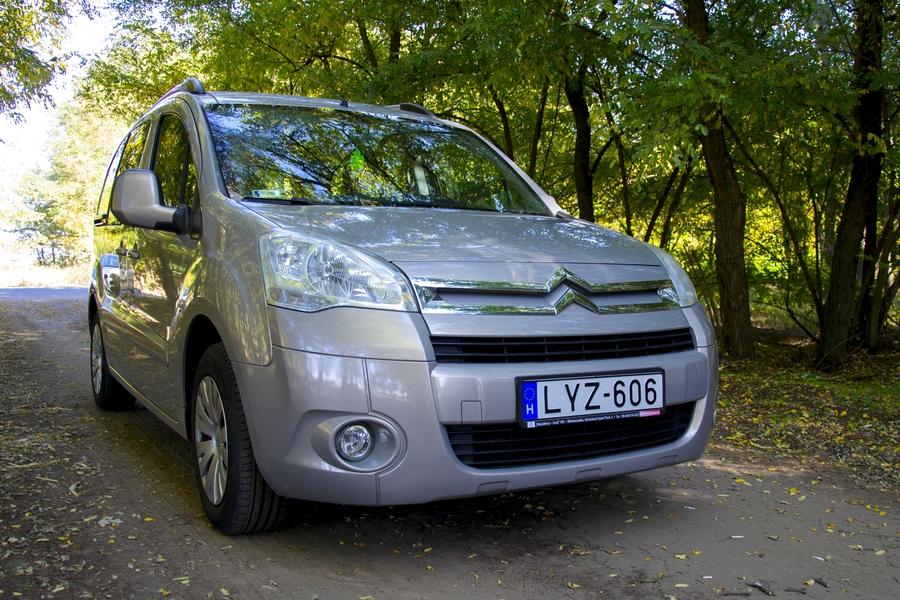 Citroën Berlingo 1.6 VTi teszt – a család nagy kedvence