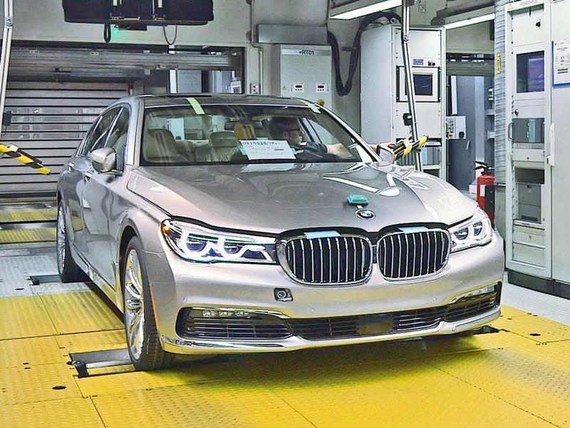 Photo of Így születnek a 7-es BMW-k
