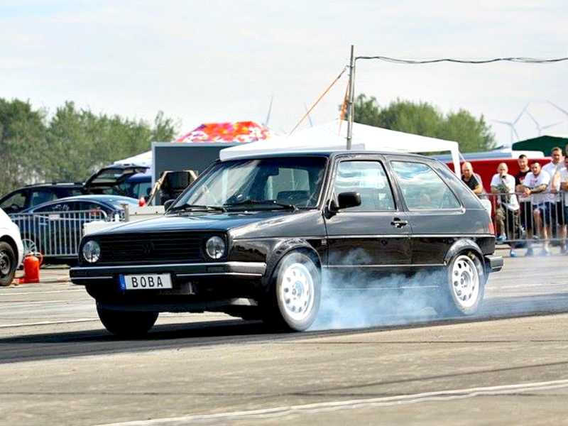 Photo of 1233 (!) lóerős Volkswagen Golf II