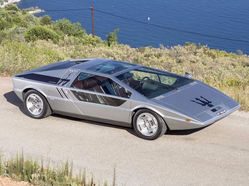 Photo of Maserati Boomerang – formabontó koncepció