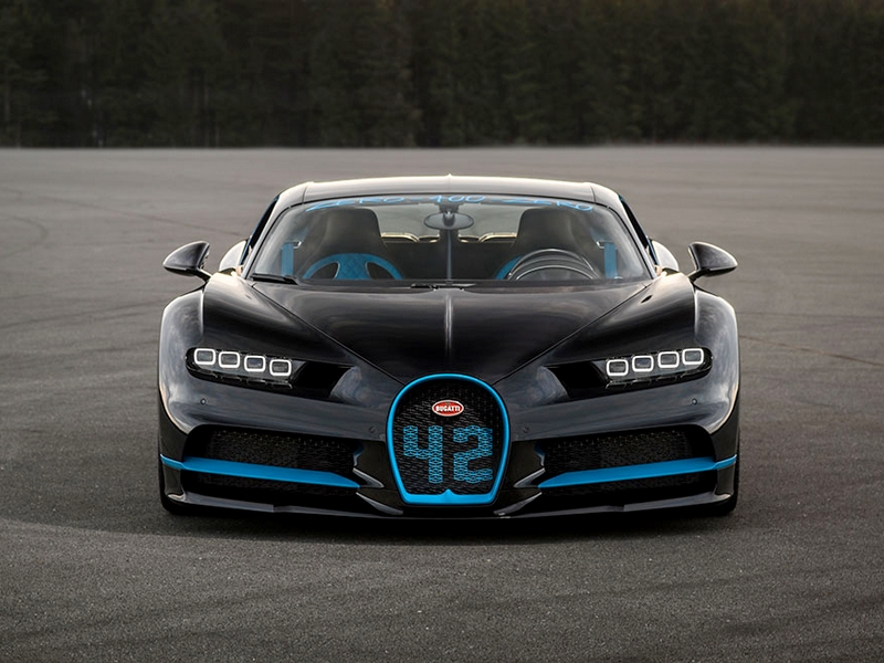 Photo of Bugatti Chiron 0-400-0
