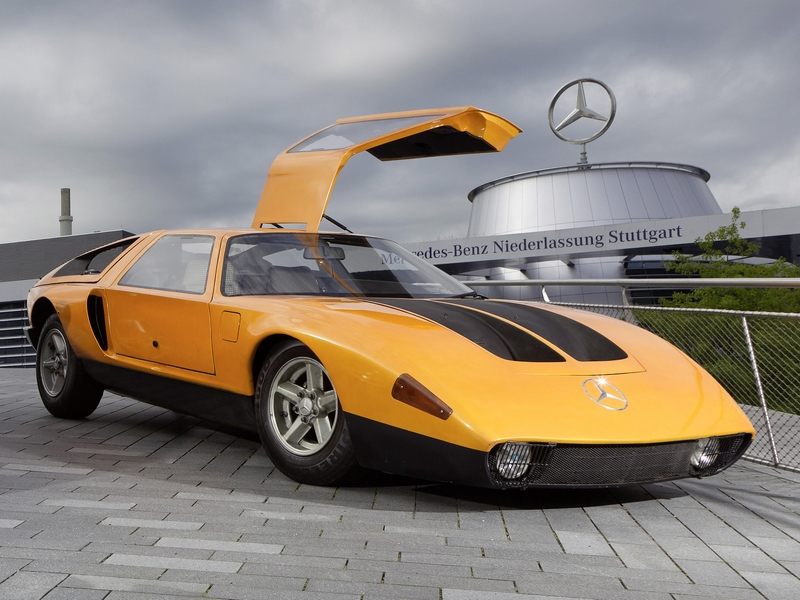 Photo of Mercedes-Benz C111/II.