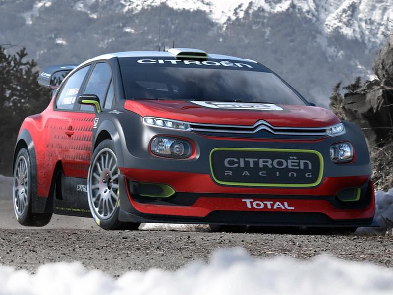 Photo of Citroën C3 WRC koncepció