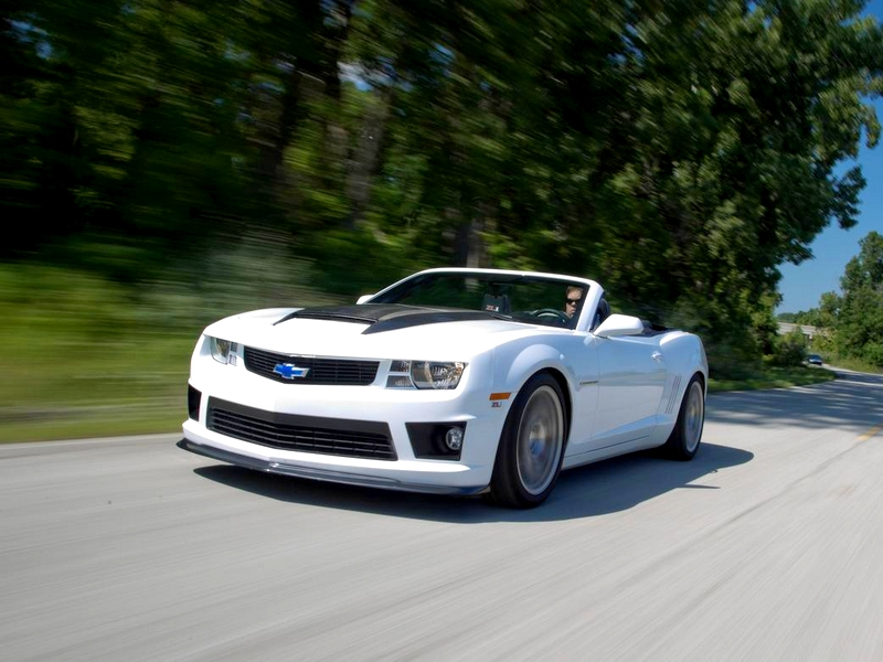 Photo of Chevrolet Camaro SLP ZL1 a tesztpályán