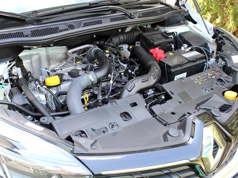 Renault Captur motor