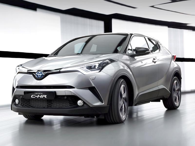Photo of Toyota C-HR – merész húzás