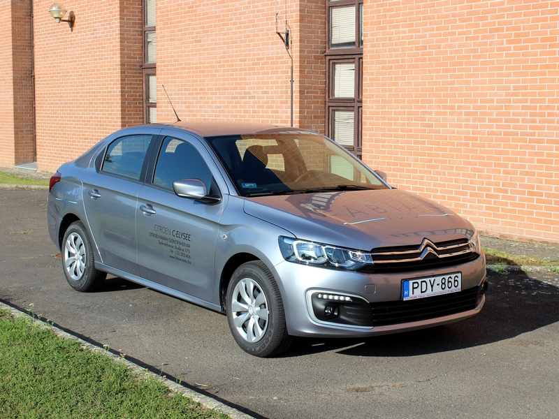 Photo of Citroën C-Elysée teszt – szedán tárulj
