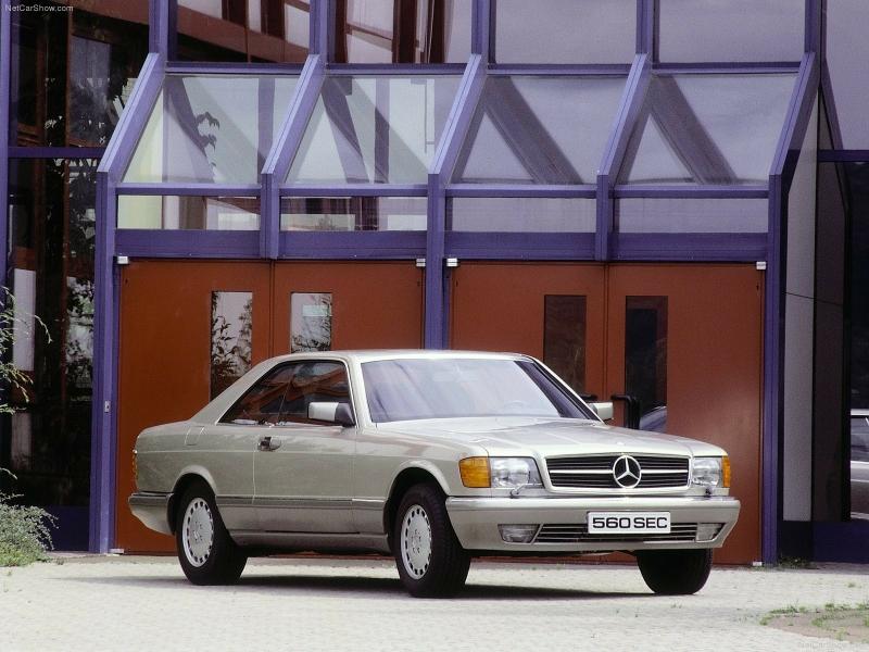 Photo of Mercedes 560 SEC