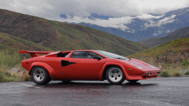 Photo of Lamborghini Countach – kanyargós utakon
