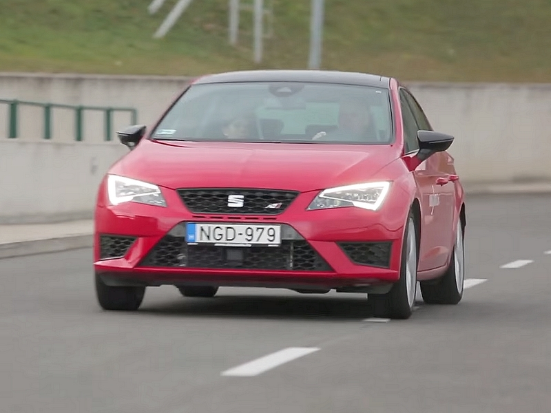 Photo of Seat Leon Cupra a SportVerdában
