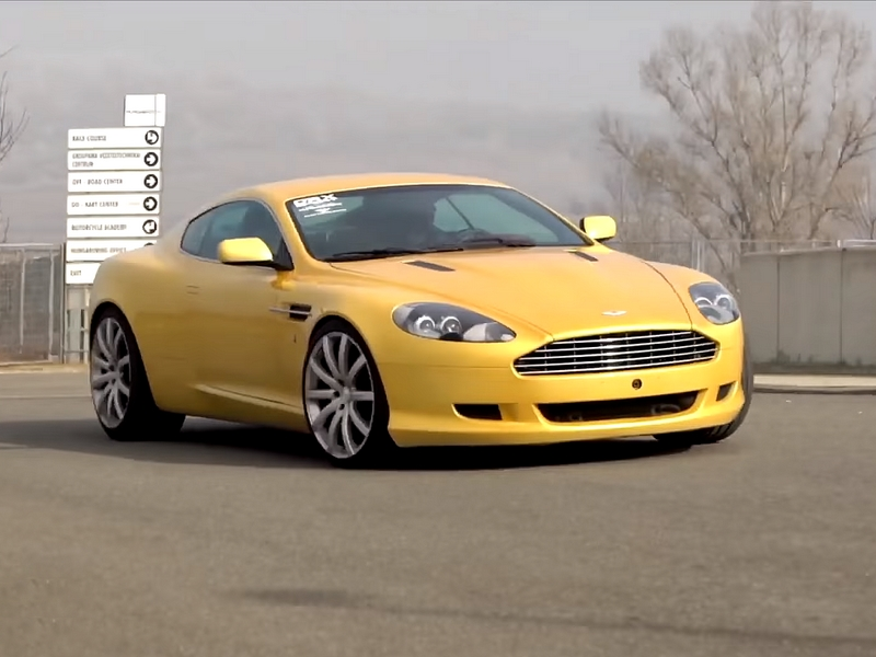 Photo of Aston Martin DB9 a SportVerdában