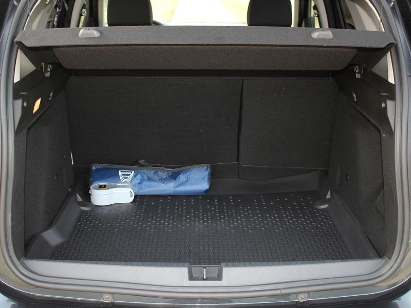 Dacia Duster csomagtér