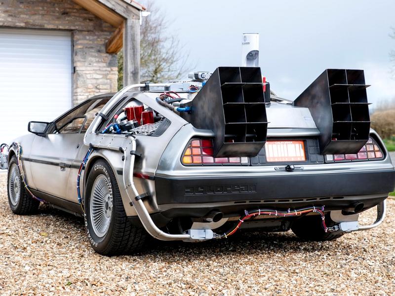 "Photo of DeLorean DMC-12 – ""időgép"" Bristolból"