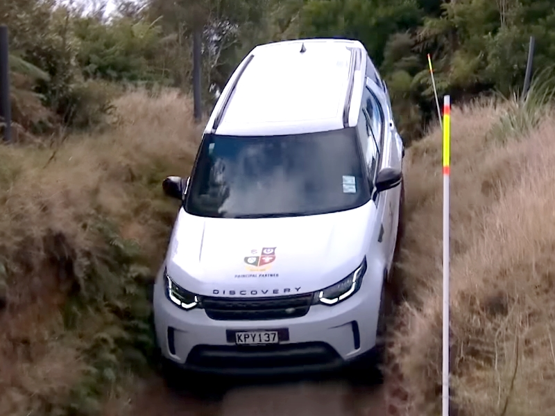 Photo of Land Rover Discovery tereppróba