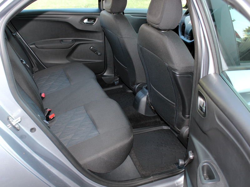 Citroën C-Elysée belső