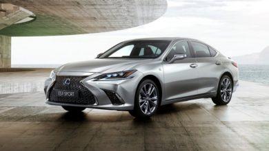 Photo of F SPORT változatban is piacra lép az új Lexus ES
