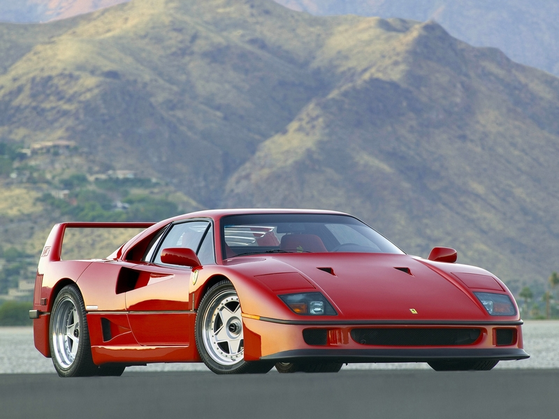 Photo of Ferrari F40 hangpróba