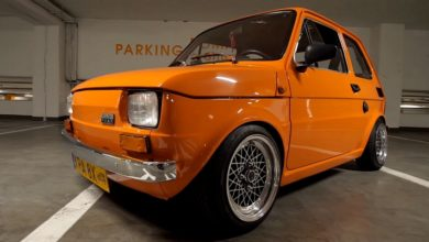 "Photo of Polski Fiat 126p ""Fanta"""