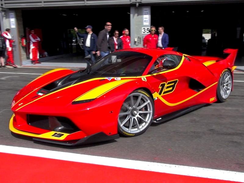 Photo of Ferrari FXX K – a pályára született
