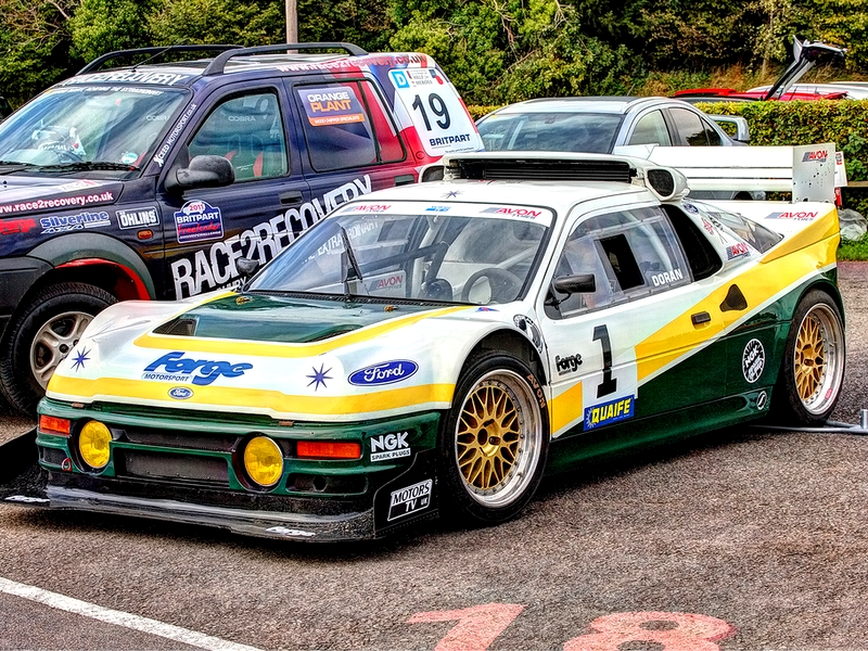 Photo of Ford RS200 Pikes Peak a Lydden Hill-i pályán