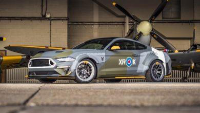 Photo of Ford Eagle Squadron Mustang GT – árverésre építve