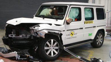 Photo of Mercedes G-osztály Euro NCAP törésteszt