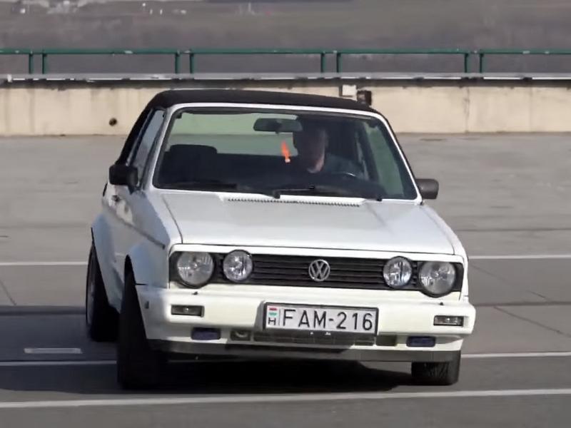 Photo of Volkswagen Golf I kabrió a SportVerdában