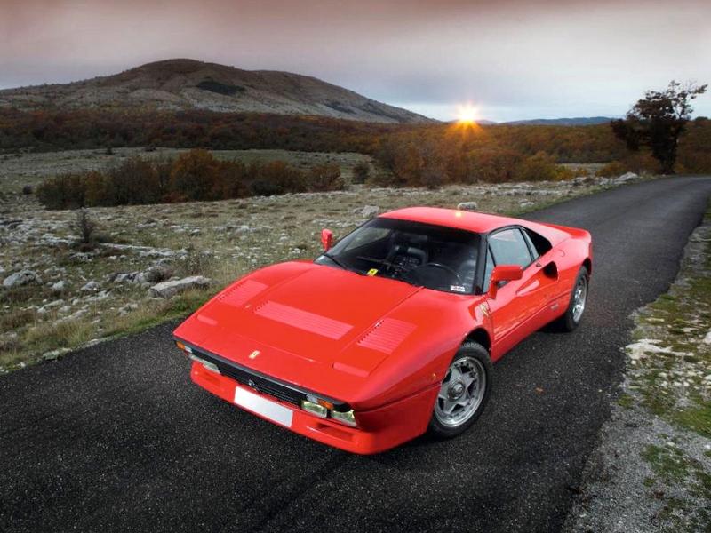 Photo of Ferrari 288 GTO vadulás