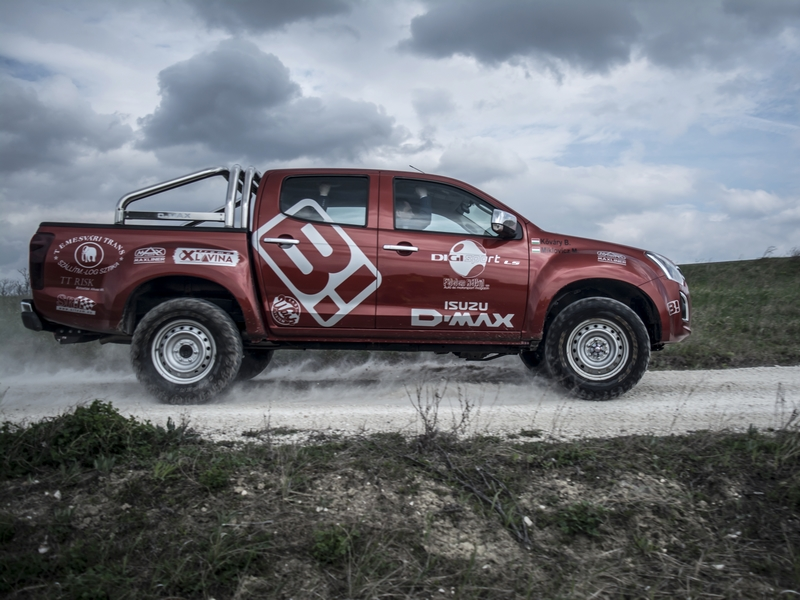 Photo of Isuzu D-Max – ütős tereppróba