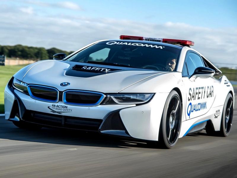 Photo of BMW i8 biztonsági autó