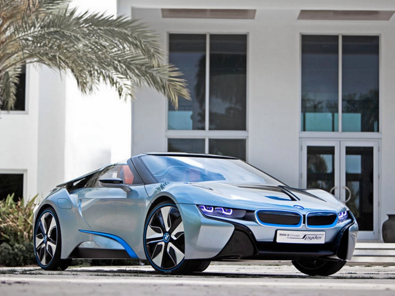 Photo of BMW i8 Spyder – a jövő luxusa