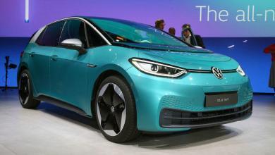 Frankfurtban lépett ki a valóságba a Volkswagen ID.3