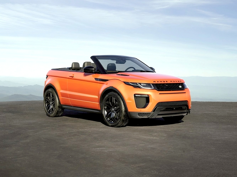 Photo of Range Rover Evoque Convertible – vászontetős SUV