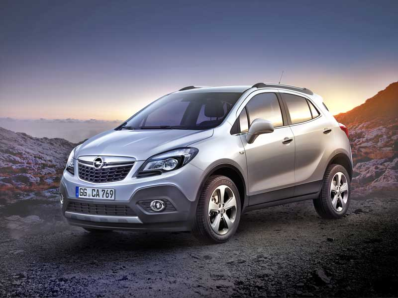 Photo of Opel Mokka – kávé habbal