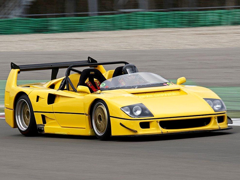 Photo of Ferrari F40 LM Barchetta
