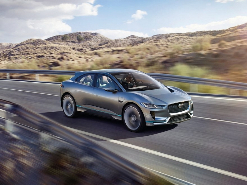 Photo of Jaguar I-Pace – elektromos tanulmány