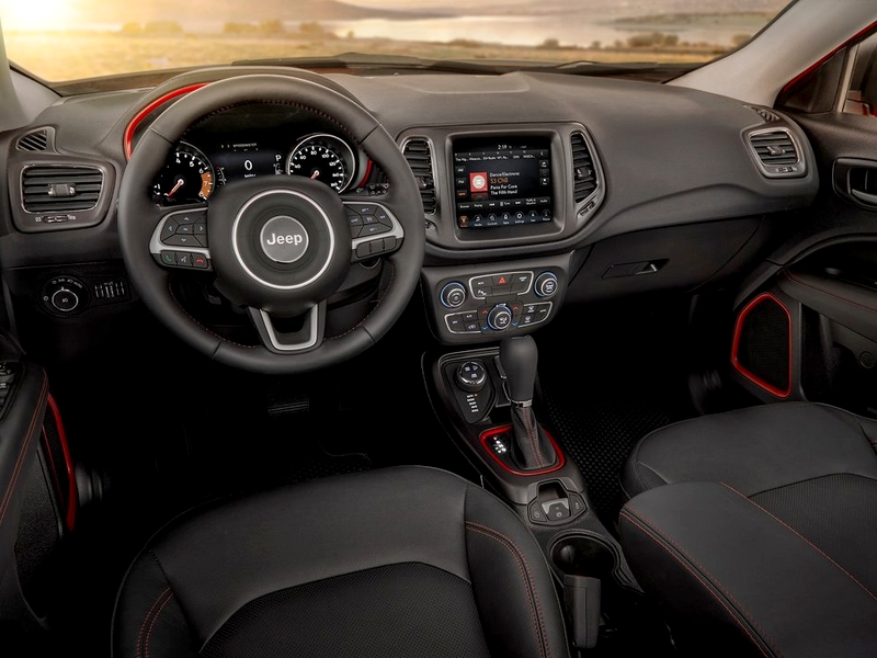 Jeep Compass belső