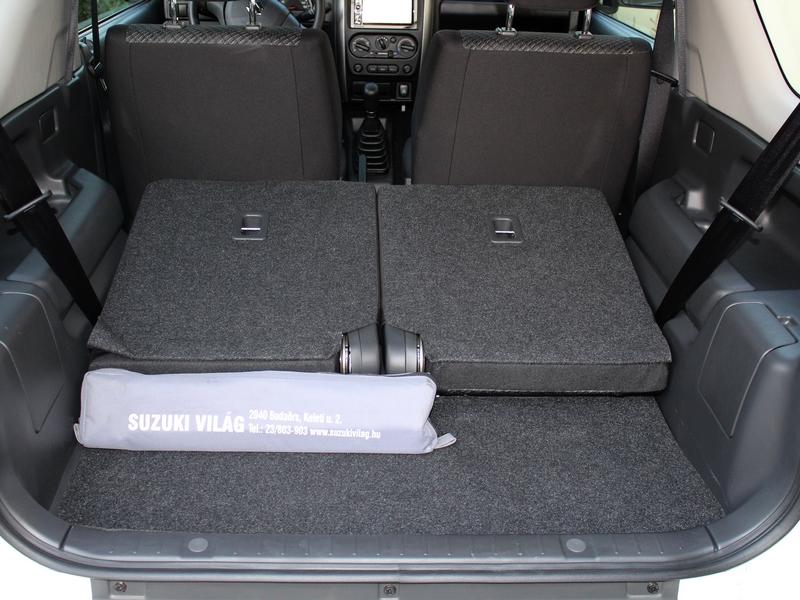 Suzuki Jimny csomagtartó