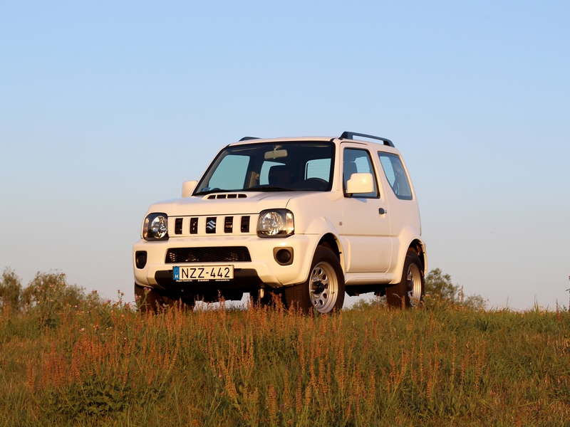 Photo of Suzuki Jimny teszt – terepre teremtve
