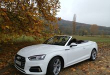 Photo of Audi A5 Cabriolet 2.0 TFSi – borúra derű