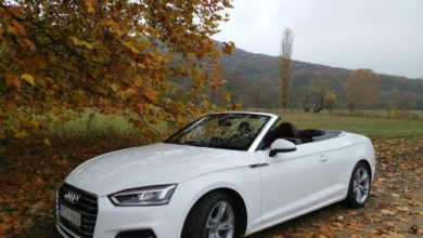 Photo of Audi A5 Cabriolet 2.0 TFSi – borúra derű