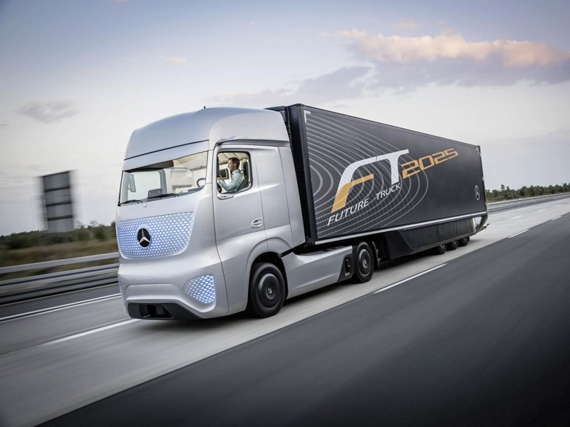Photo of A jövő kamionja – Mercedes Future Truck 2025