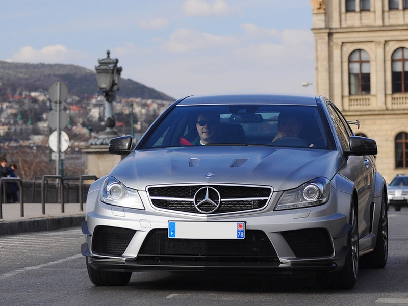 Photo of Mercedes-Benz C63 AMG Coupé Black Series