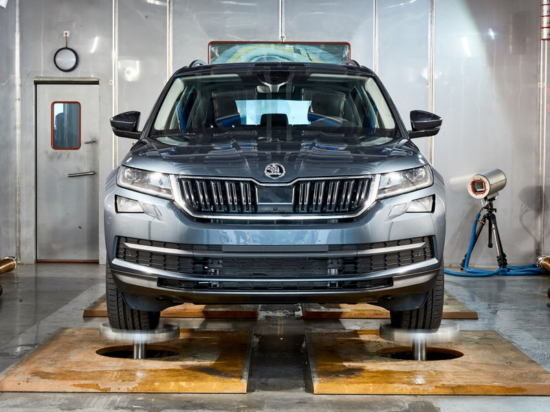 Photo of Skoda Kodiaq törésteszt