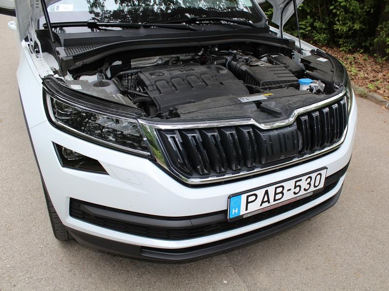 Škoda Kodiaq motor