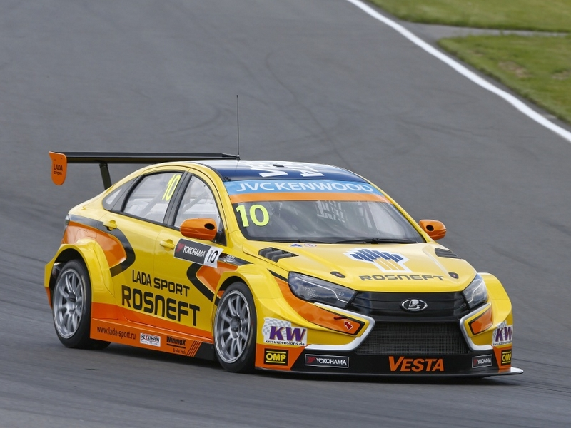 Photo of Lada Vesta a WTCC-ben