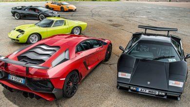Photo of A Lamborghinik fejlődése