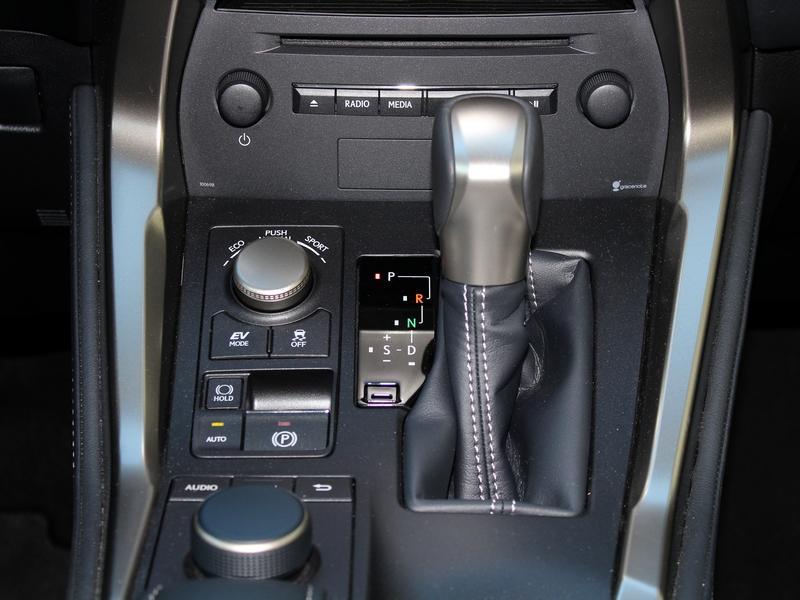 Lexus NX 300h sebváltó
