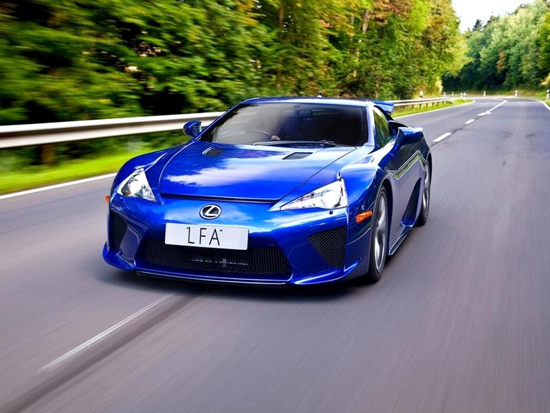 Photo of Lexus LFA – sportos kékség