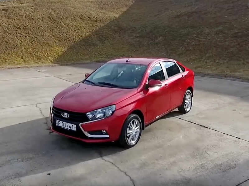 Photo of Lada Vesta a SportVerdában